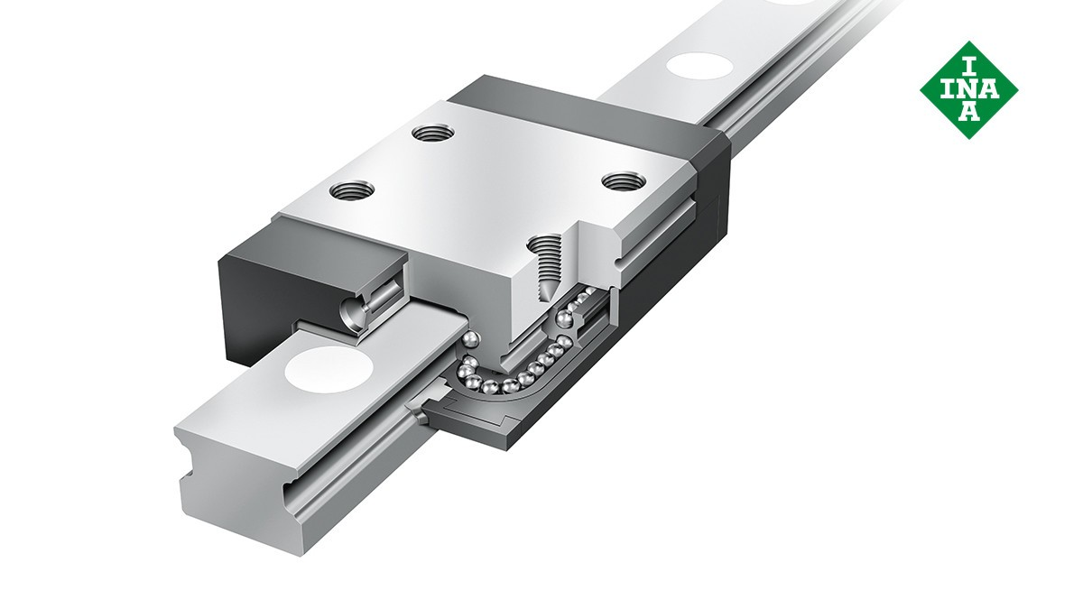 Schaeffler linear guides: Miniature linear ball bearing and guideway assemblies