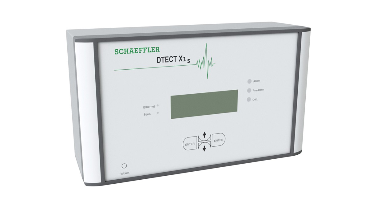 DTECTX1s is a flexible online system for the monitoring of rotating components and elements in the machinery and plant industry.